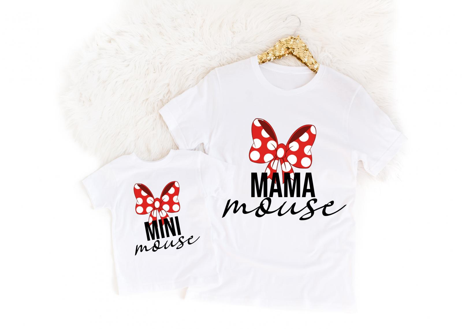 SET MAMA MOUSE+MINI MOUSE