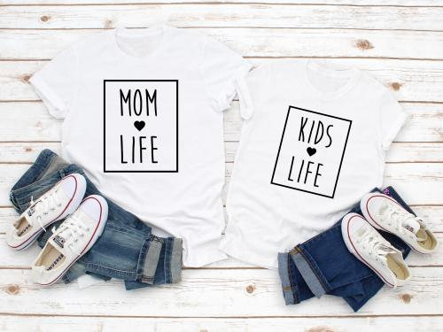 SET MOM LIFE+KIDS LIFE